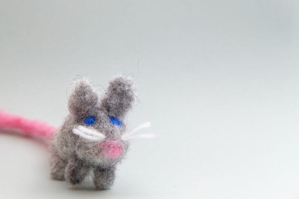 Maus aus Filz